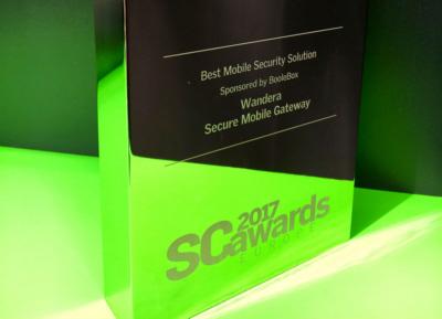 Chi ha vinto il 2017 SC Award come migliore soluzione per la sicurezza sui dispositivi mobili?
