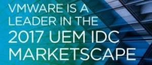 VMware è stata posizionata come leader nell'IDC MarketScape per l'Unified Endpoint Management Software