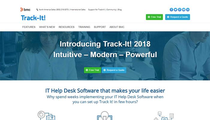 Track-It! 2018 R2è ora disponibile!