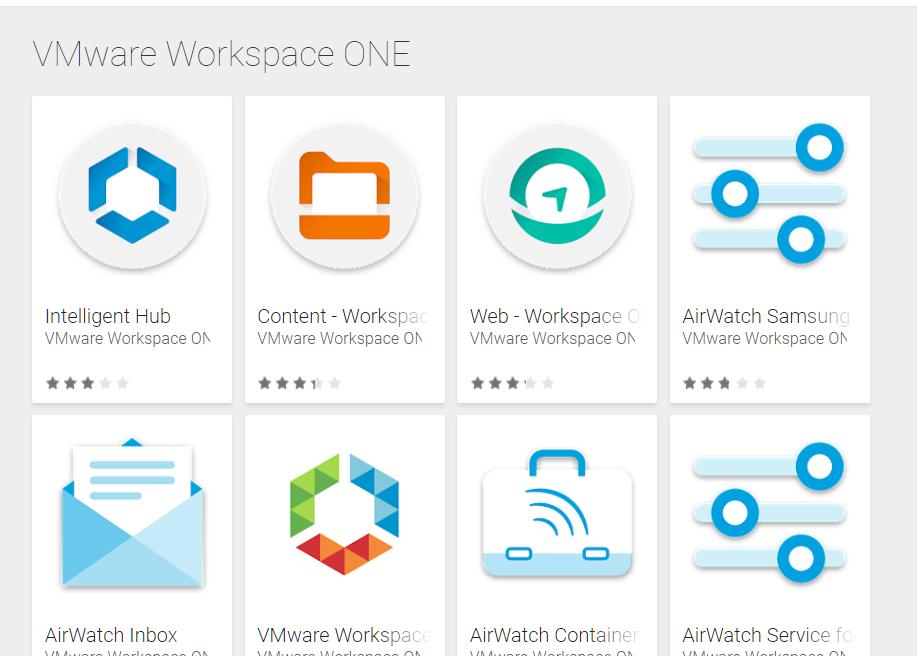 Workspace ONE - cambio nomi delle app